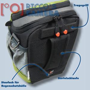 Halftertasche für Olympus E-520 E-510 E-420 E-410 E-400 E-330E-300 E-100RS E-500 - Holster-Tasche in oliv grün Bereitschaftstasc - 1