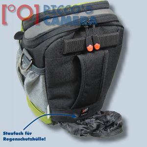 Halftertasche für Olympus E-520 E-510 E-420 E-410 E-400 E-330E-300 E-100RS E-500 - Holster-Tasche in oliv grün Bereitschaftstasc - 2