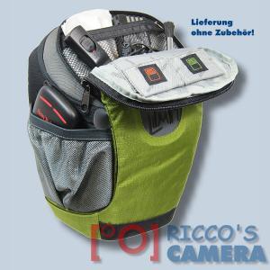 Halftertasche für Olympus E-520 E-510 E-420 E-410 E-400 E-330E-300 E-100RS E-500 - Holster-Tasche in oliv grün Bereitschaftstasc - 4