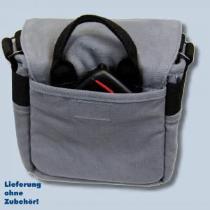 Genesis TACIT S Fototasche in grau Kameratasche für kompakte Digitalkameras Bridgekameras Tasche gtsg - 1