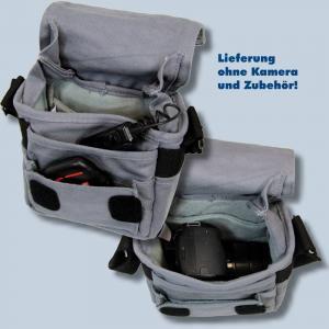 Genesis TACIT S Fototasche in grau Kameratasche für kompakte Digitalkameras Bridgekameras Tasche gtsg - 3
