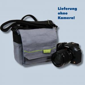 Genesis TACIT S Fototasche in grau Kameratasche für kompakte Digitalkameras Bridgekameras Tasche gtsg - 4
