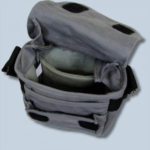 Kameratasche für Fujifilm X-T3 X-T20 X-T2 X-H1 X-A5 X-A10 X-A3 X-A2 X-A1 X-M1 - Fototasche in grau Tasche gtsg - 2