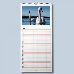 Familienkalender Fotokalender zum selbstgestalten für 2019 Bildkalender Foto Bastelkalender mit Platz für wichtige Tage für die - 1