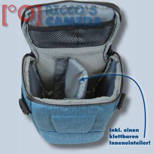 Dörr Halfter-Fototasche Motion M in blau Colt Kameratasche für Systemkameras Bridgekameras und kleine DSLR Kamera Tasche hmmbl - 3