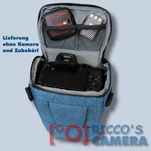 Dörr Halfter-Fototasche Motion M in blau Colt Kameratasche für Systemkameras Bridgekameras und kleine DSLR Kamera Tasche hmmbl - 4