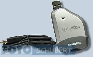 Cytronix Pocket Reader USB CR-T2-UM Kartenleser, Card-Reader für MemorySticks