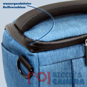 Dörr Fototasche Motion S in blau Kameratasche für Systemkameras Bridgekameras und kleine DSLR Kameras Tasche Bag blue dmsbl - 2