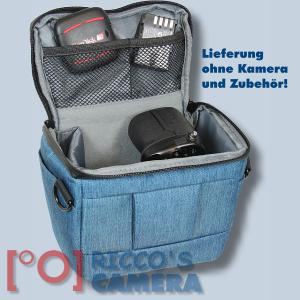 Dörr Fototasche Motion S in blau Kameratasche für Systemkameras Bridgekameras und kleine DSLR Kameras Tasche Bag blue dmsbl - 4