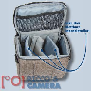 Dörr Fototasche Motion S in braun Kameratasche für Systemkameras, Bridgekameras und kleine DSLR Kameras Tasche Bag brown dmsbr - 3