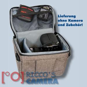 Dörr Fototasche Motion S in braun Kameratasche für Systemkameras, Bridgekameras und kleine DSLR Kameras Tasche Bag brown dmsbr - 4