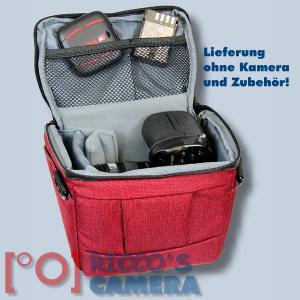 Dörr Fototasche Motion S in rot Kameratasche für Systemkameras, Bridgekameras und kleine DSLR Kameras Tasche Bag red dmsr - 4