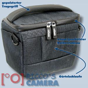 Dörr Fototasche Motion S in schwarz Kameratasche für Systemkameras, Bridgekameras und kleine DSLR Kameras Tasche Bag black dmss - 1