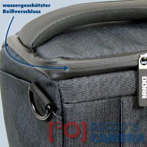 Dörr Fototasche Motion S in schwarz Kameratasche für Systemkameras, Bridgekameras und kleine DSLR Kameras Tasche Bag black dmss - 2