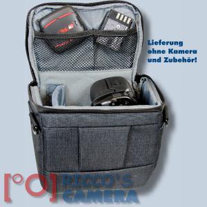 Dörr Fototasche Motion S in schwarz Kameratasche für Systemkameras, Bridgekameras und kleine DSLR Kameras Tasche Bag black dmss - 3