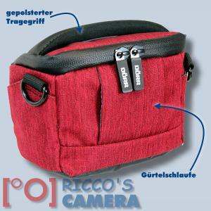 Dörr Fototasche Motion XS in rot Kameratasche für kompakte Digitalkameras oder kleine Systemkameras Tasche Bag red mxsr - 1