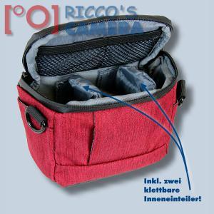 Dörr Fototasche Motion XS in rot Kameratasche für kompakte Digitalkameras oder kleine Systemkameras Tasche Bag red mxsr - 3