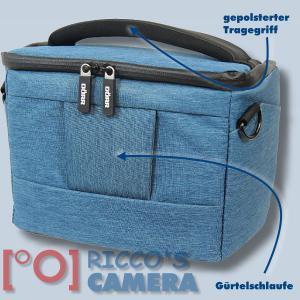 Dörr Fototasche Motion M in blau Kameratasche für Spiegelreflexkameras und Systemkameras Tasche Bag blue dmmbl - 1