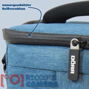 Dörr Fototasche Motion M in blau Kameratasche für Spiegelreflexkameras und Systemkameras Tasche Bag blue dmmbl - 2