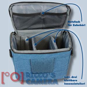 Dörr Fototasche Motion M in blau Kameratasche für Spiegelreflexkameras und Systemkameras Tasche Bag blue dmmbl - 3