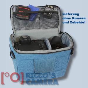 Dörr Fototasche Motion M in blau Kameratasche für Spiegelreflexkameras und Systemkameras Tasche Bag blue dmmbl - 4