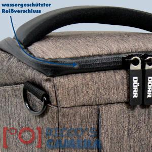 Colt Fototasche für Canon EOS D60 D30 10D - Halfter-Kameratasche braun Holster Tasche hmlbr - 2
