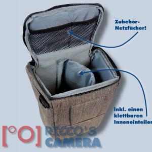 Colt Fototasche für Canon EOS D60 D30 10D - Halfter-Kameratasche braun Holster Tasche hmlbr - 3