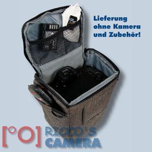 Colt Fototasche für Canon EOS D60 D30 10D - Halfter-Kameratasche braun Holster Tasche hmlbr - 4
