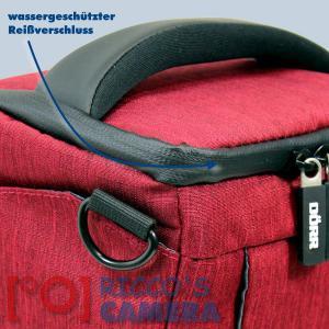 Colt Fototasche für Canon EOS D60 D30 10D - Halfter-Kameratasche rot Holster Tasche hmlr - 2