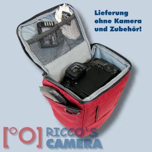 Colt Fototasche für Canon EOS D60 D30 10D - Halfter-Kameratasche rot Holster Tasche hmlr - 4