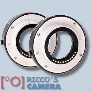 Autofokus-Zwischenringe für Olympus OM-D E-M5 Mark II  OM-D E-M5 OM-D E-M10 Mark II OM-D E-M10 OM-D E-M1 - Makro-Zwischenringe M - 2