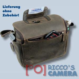 Leder Tasche Kalahari Kaama L-15 Kameratasche Büffelledertasche Fototasche kl15 - 2