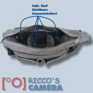 Tasche für Nikon D5600 D3400 D7200 D7100 D7000 D5500 D5300 D5200 D5100 D5000 D3300 D3200 D3100 - Kameratasche Fototasche mb2 - 3