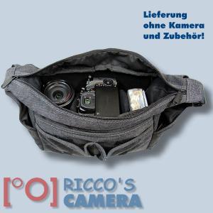 Tasche für Nikon D5600 D3400 D7200 D7100 D7000 D5500 D5300 D5200 D5100 D5000 D3300 D3200 D3100 - Kameratasche Fototasche mb2 - 4
