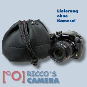 Neopren Kamerabeutel 14 x 14 x 10 cm Kamera Beutel für kleine DSLR oder Systemkamera Fototasche Kameratasche Tasche pc14 - 2