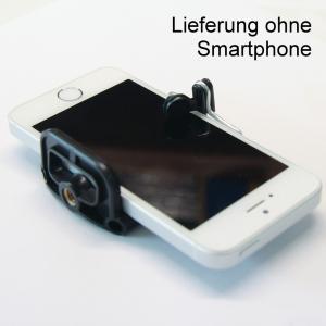 Handyhalterung Smartphone Halter für Selfie Aufnahmen mit Ihrem iPhone Samsung Galaxy Sony Xperia Huawei u.a. Stativhalterung St - 2