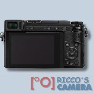 Panasonic Lumix DMC-GX80 + Lumix G VARIO 14-42mm / F3.5-5.6 ASPH. / Mega O.I.S  Systemkamera mit 4K-Foto- und Videofunktionen Wi - 1