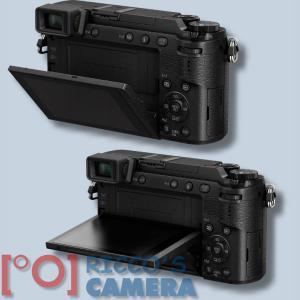 Panasonic Lumix DMC-GX80 + Lumix G VARIO 14-42mm / F3.5-5.6 ASPH. / Mega O.I.S  Systemkamera mit 4K-Foto- und Videofunktionen Wi - 3