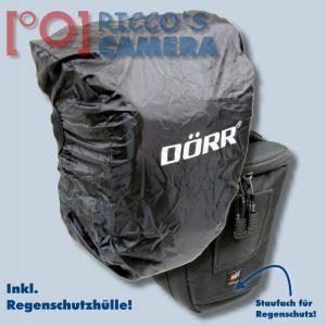 Dörr Halfter-Fototasche Classic M Colt-Tasche für Systemkameras oder DSLR-Kamera Kameratasche mit Regenschutzhülle Bereitschafts - 2