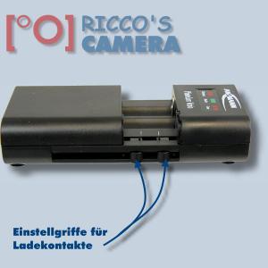universal Ladegerät für Olympus OM-D E-M10 Pen E-PL6 E-PL5 E-PM2 Mini E-PM1 Pen Lite E-PL3 Pen E-PL2 und fast alle Li-Ion Akkus - 1