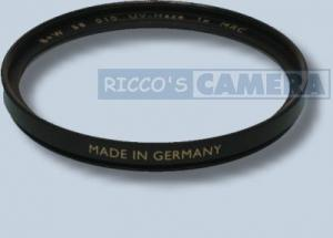 UV-Filter MRC - vergütet 62mm B+W UV Filter 62 mm ( B&W UV (010) MRC 62 E )