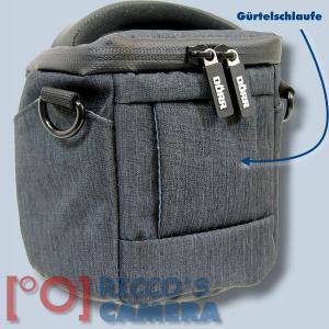 Dörr Halfter-Fototasche Motion XS in schwarz Kameratasche für Bridgekameras und kleine Systemkameras Holster Tasche black hmxss - 1