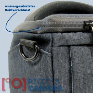 Dörr Halfter-Fototasche Motion XS in schwarz Kameratasche für Bridgekameras und kleine Systemkameras Holster Tasche black hmxss - 2