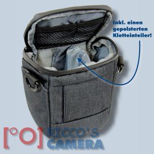 Dörr Halfter-Fototasche Motion XS in schwarz Kameratasche für Bridgekameras und kleine Systemkameras Holster Tasche black hmxss - 3
