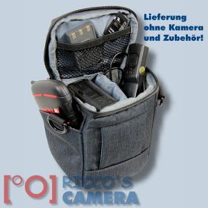 Dörr Halfter-Fototasche Motion XS in schwarz Kameratasche für Bridgekameras und kleine Systemkameras Holster Tasche black hmxss - 4