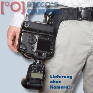 Spider Hüft-Tragesystem SpiderPro Camera Holster für 1 DSLR Kamergurt Hüftgurt (Halfter) System Set Spiderholster - Für alle DSL - 2