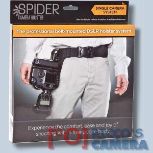 Spider Hüft-Tragesystem SpiderPro Camera Holster für 1 DSLR Kamergurt Hüftgurt (Halfter) System Set Spiderholster - Für alle DSL - 3
