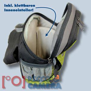 Dörr No-Limit Hüfttasche oliv Fototasche für kompakte Digitalkamera Systemkamera Tasche mit Regenhülle und Bauchgurt hnlo - 3