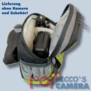 Dörr No-Limit Hüfttasche oliv Fototasche für kompakte Digitalkamera Systemkamera Tasche mit Regenhülle und Bauchgurt hnlo - 4