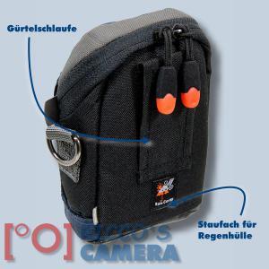 blaue Fototasche für Canon Powershot SX720 HS SX710 SX700 SX620 SX610 SX600 SX280 - Kameratasche Regenschutz Tasche blau nl1b - 1
